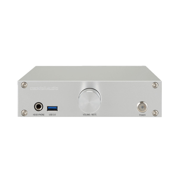cocktailAudio N15 Musikserver silver front
