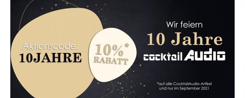 10 Jahre CocktailAudio