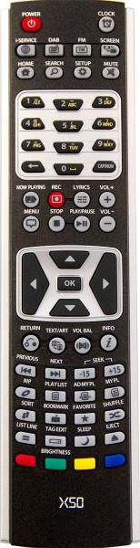 CocktailAudio X50 Fernbedienung