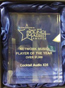 X35 Award_Trophy_Image Magazine in AUS