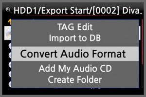 Audio konvertieren in FLAC, ALAC, WAV, MP3 oder Ogg
