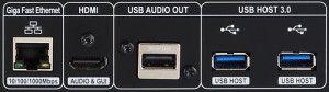 CocktailAudio X50 Detailansicht Anschlüsse