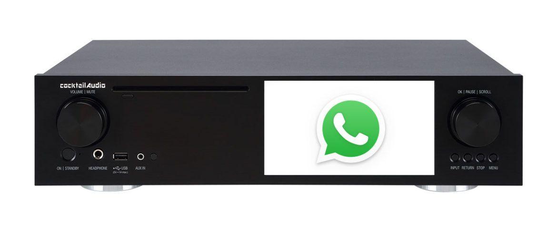 Service und Support per Whatsapp