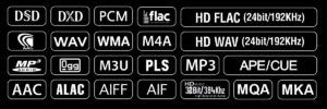 N15D abspielbare Formate
