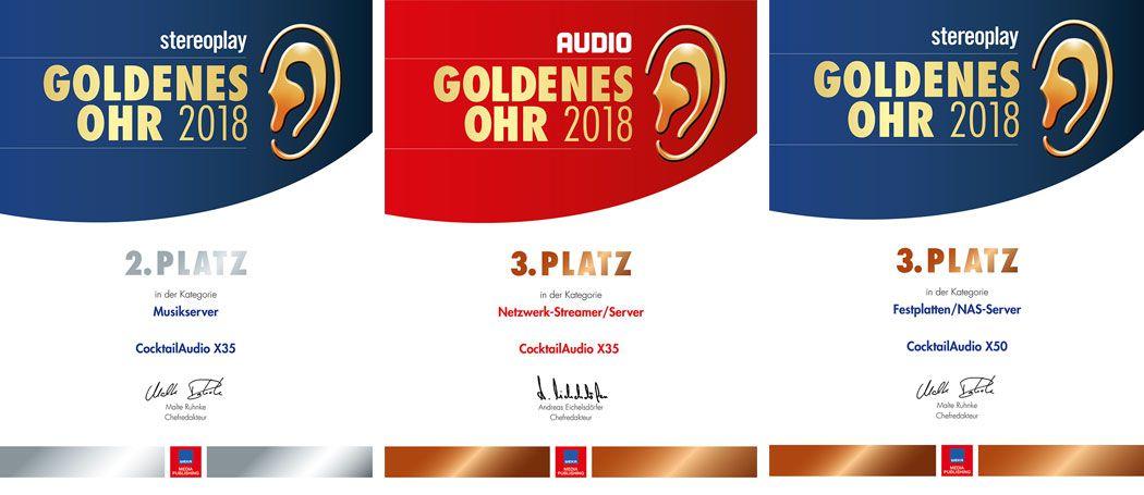 Goldenes Ohr 2018 CocktailAudio Übersicht