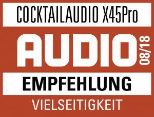 Test cocktailAudio X45Pro bei Audio
